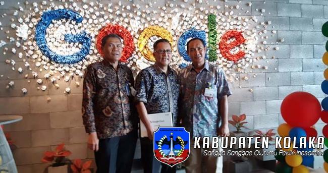 Wujudkan Pendidikan Berbasis Teknologi, Pemda Kolaka Sambangi Kantor Google